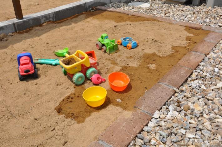 砂場スペース