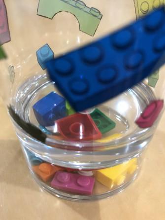 レゴ入ってるよ♪