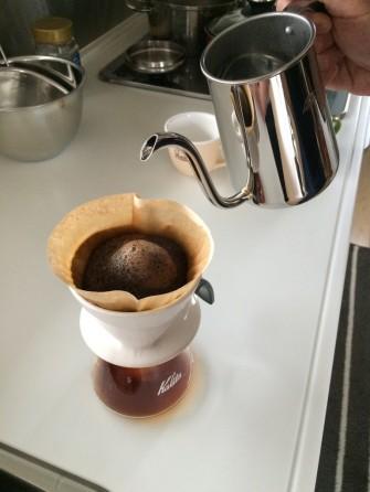 引き立てコーヒー♪