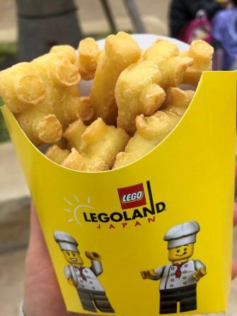 レゴ型ポテト!?